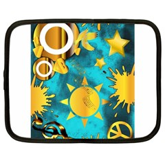Musical Peace  Netbook Sleeve (xl) by StuffOrSomething
