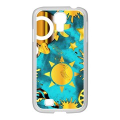 Musical Peace  Samsung Galaxy S4 I9500/ I9505 Case (white) by StuffOrSomething