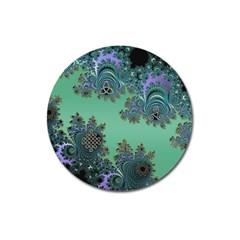 Celtic Symbolic Fractal Magnet 3  (round) by UROCKtheWorldDesign