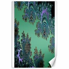 Celtic Symbolic Fractal Canvas 20  X 30  (unframed) by UROCKtheWorldDesign
