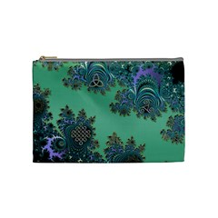 Celtic Symbolic Fractal Cosmetic Bag (medium)