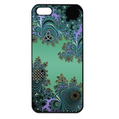 Celtic Symbolic Fractal Apple Iphone 5 Seamless Case (black) by UROCKtheWorldDesign