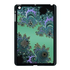 Celtic Symbolic Fractal Apple Ipad Mini Case (black) by UROCKtheWorldDesign