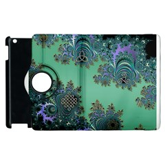 Celtic Symbolic Fractal Apple Ipad 3/4 Flip 360 Case by UROCKtheWorldDesign