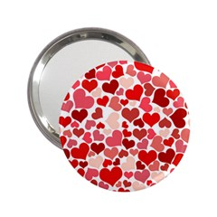 Pretty Hearts  Handbag Mirror (2.25 ) by Colorfulart23