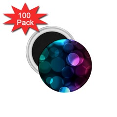 Deep Bubble Art 1 75  Button Magnet (100 Pack) by Colorfulart23