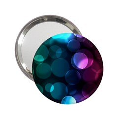Deep Bubble Art Handbag Mirror (2.25 ) by Colorfulart23