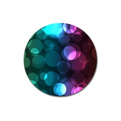 Deep Bubble Art Magnet 3  (round) by Colorfulart23