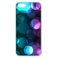 Deep Bubble Art Apple Seamless Iphone 5 Case (color) by Colorfulart23