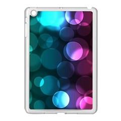 Deep Bubble Art Apple Ipad Mini Case (white) by Colorfulart23