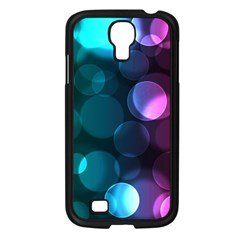 Deep Bubble Art Samsung Galaxy S4 I9500/ I9505 Case (black) by Colorfulart23