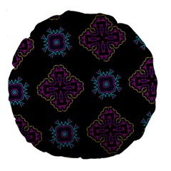 Black Beauty 18  Premium Round Cushion  by Contest1852090