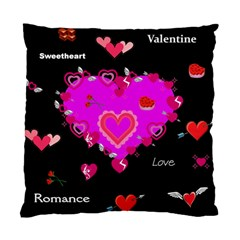 Valentine Cushion Case (Single Sided)  by Contest1852090