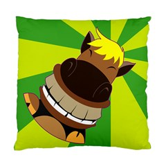 Mr Horse Cushion Case (two Sided)