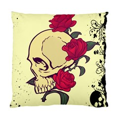 Death Skeleton Cushion Case (Two Sided)  by Contest1704393