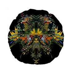 Jungle Fever 15  Premium Round Cushion
