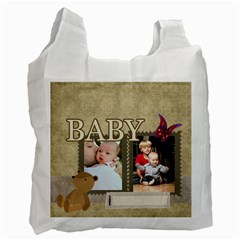 Baby By Baby   Recycle Bag (two Side)   Rns1lzgen4fx   Www Artscow Com Front
