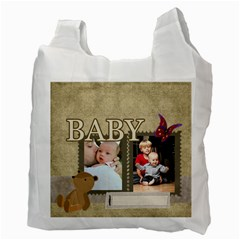 Baby By Baby   Recycle Bag (two Side)   Rns1lzgen4fx   Www Artscow Com Back