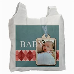 Baby By Baby   Recycle Bag (two Side)   Hn2mdk7qlal6   Www Artscow Com Front