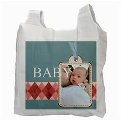 Baby By Baby   Recycle Bag (two Side)   Hn2mdk7qlal6   Www Artscow Com Back