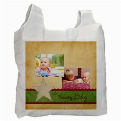 Baby By Baby   Recycle Bag (two Side)   2ktkc1ae1sow   Www Artscow Com Front