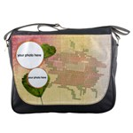 Like Stitch Rose bag - Messenger Bag