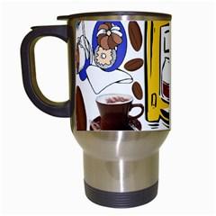 Just Bring Me Coffee Travel Mug (white) by StuffOrSomething