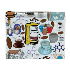 Just Bring Me Coffee Cosmetic Bag (xl) by StuffOrSomething