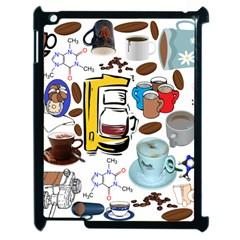Just Bring Me Coffee Apple Ipad 2 Case (black) by StuffOrSomething