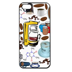 Just Bring Me Coffee Apple Iphone 5 Seamless Case (black) by StuffOrSomething