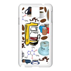 Just Bring Me Coffee Samsung Galaxy Note 3 Case (white) by StuffOrSomething