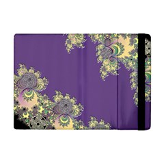 Purple Symbolic Fractal Apple Ipad Mini Flip Case by UROCKtheWorldDesign