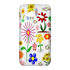 Summer Florals HTC Droid Incredible 4G LTE Hardshell Case by StuffOrSomething