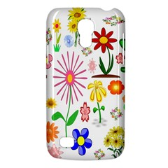 Summer Florals Samsung Galaxy S4 Mini (gt I9190) Hardshell Case  by StuffOrSomething