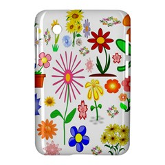 Summer Florals Samsung Galaxy Tab 2 (7 ) P3100 Hardshell Case  by StuffOrSomething