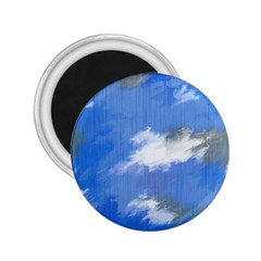 Abstract Clouds 2 25  Button Magnet by StuffOrSomething