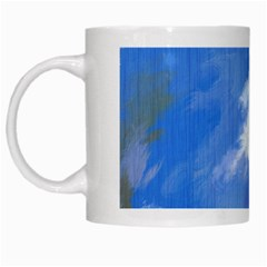 Abstract Clouds White Coffee Mug by StuffOrSomething