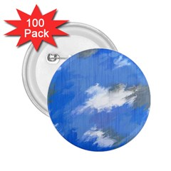 Abstract Clouds 2 25  Button (100 Pack) by StuffOrSomething