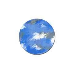 Abstract Clouds Golf Ball Marker 4 Pack by StuffOrSomething