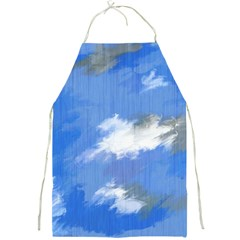 Abstract Clouds Apron by StuffOrSomething