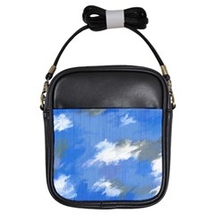 Abstract Clouds Girl s Sling Bag