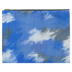 Abstract Clouds Cosmetic Bag (xxxl)