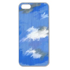 Abstract Clouds Apple Seamless Iphone 5 Case (clear) by StuffOrSomething