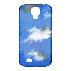 Abstract Clouds Samsung Galaxy S4 Classic Hardshell Case (pc+silicone) by StuffOrSomething
