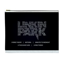 Linkin Park Bag By Manuel   Cosmetic Bag (xl)   1ozd473xqa9b   Www Artscow Com Front