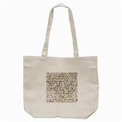 Dogs By Divad Brown   Tote Bag (cream)   74g7yk7e33ai   Www Artscow Com Back
