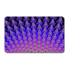 Rainbow Fan Magnet (rectangular) by UROCKtheWorldDesign