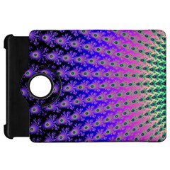 Rainbow Fan Kindle Fire Hd 7  (1st Gen) Flip 360 Case by UROCKtheWorldDesign