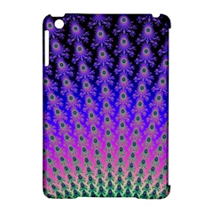 Rainbow Fan Apple Ipad Mini Hardshell Case (compatible With Smart Cover) by UROCKtheWorldDesign