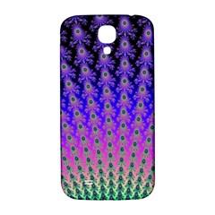 Rainbow Fan Samsung Galaxy S4 I9500/i9505  Hardshell Back Case by UROCKtheWorldDesign